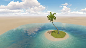 oasis vektor abbildung