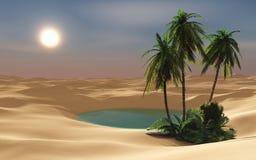 oasis illustration libre de droits