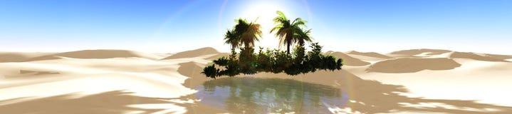 oasis Photo libre de droits