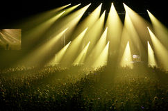 OASIS Asia tour concert Royalty Free Stock Photography