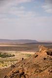 Oasis cerca de Sáhara Fotos de archivo