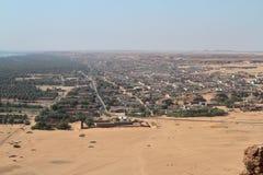The oasis city of Kerma Sudan Royalty Free Stock Image