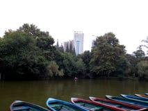 Oasis dans la ville Photo libre de droits