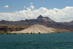 Oasis de désert Images stock