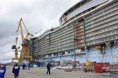Oasis de la construction de mers Photographie stock