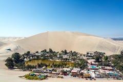 Oasis del desierto de Huacachina Foto de archivo