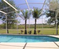 Oasis del patio trasero Imagen de archivo