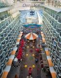 Oasis du bateau de mers Image stock