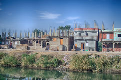 Oasis in Egypt Royalty Free Stock Photography