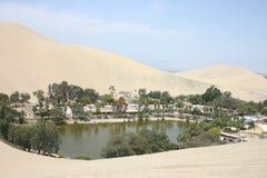 Oasis en el desierto Foto de archivo libre de regalías