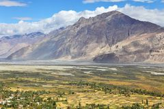 Oasis Himalayan Fotografía de archivo libre de regalías