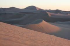 Oasis of Huacachina in Atacama desert, Peru Royalty Free Stock Photos