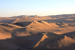 Oasis of Huacachina in Atacama desert, Peru Stock Photography