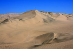 Oasis of Huacachina in Atacama desert, Peru Royalty Free Stock Photos