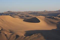 Oasis of Huacachina in Atacama desert, Peru Stock Image