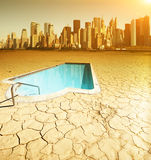 Oasis In City Stock Images