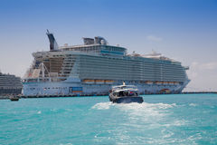 Oasis of the Seas Stock Images