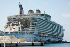 Oasis of the Seas Stock Photography