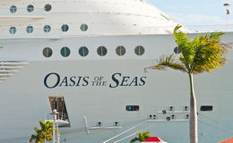Oasis of the Seas Royalty Free Stock Images