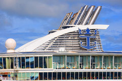 Oasis of the Seas funnel Stock Image