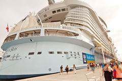 Oasis of the Seas Royalty Free Stock Image