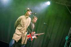 Oasis tribute act Royalty Free Stock Photography