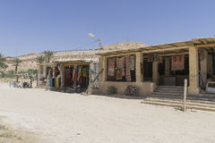 Oasis in tunisia Royalty Free Stock Photo