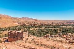 Oasis Village in Morocco Stock Photos