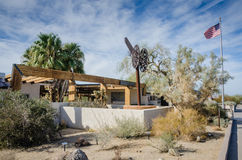 Oasis Visitor Center - Joshua Tree National Park - California Stock Photography