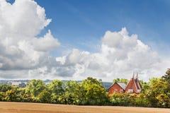 oast σπιτιών Στοκ Εικόνες