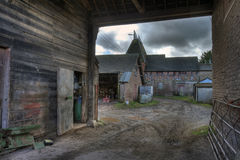 Oast House, Herefordshire Stock Images