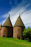 Oast houses Royalty Free Stock Image