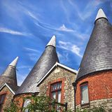Oast houses. In Kent Stock Photos
