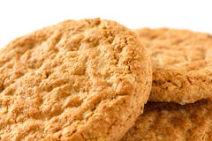 Oat biscuits Stock Photo