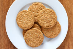 Oat biscuits Stock Photos