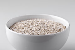 Oat bowl Royalty Free Stock Photos