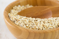 Oat in bowl Stock Images