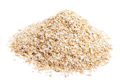 Oat bran Stock Photo