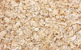 Oat Bran. Closeup of oat meal Royalty Free Stock Image