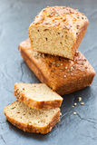 Oat bran bread Royalty Free Stock Images