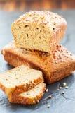 Oat bran bread Stock Image