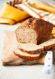 Oat bran bread Stock Images