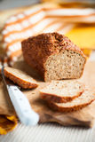 Oat bran bread Royalty Free Stock Photo
