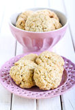 Oat bran cookies Royalty Free Stock Photo