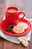Oat bran cookies Stock Image