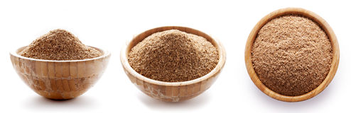 Oat Bran In Bowl Royalty Free Stock Photography