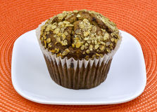 Oat bran muffin Stock Photography