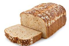 Oat Bread. Oat topped whole grain bread Stock Images
