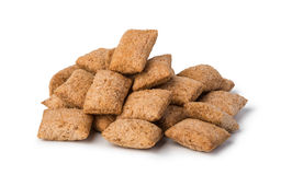 Oat Cereal pads Stock Photo