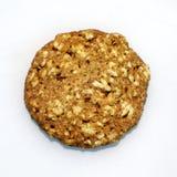 Oat & cinnamon cookie Stock Photo